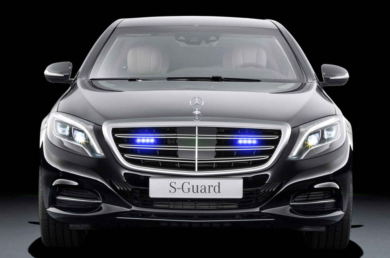фото  Mercedes-Benz S600 Guard