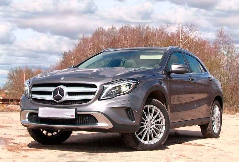 фото Mercedes-Benz GLA