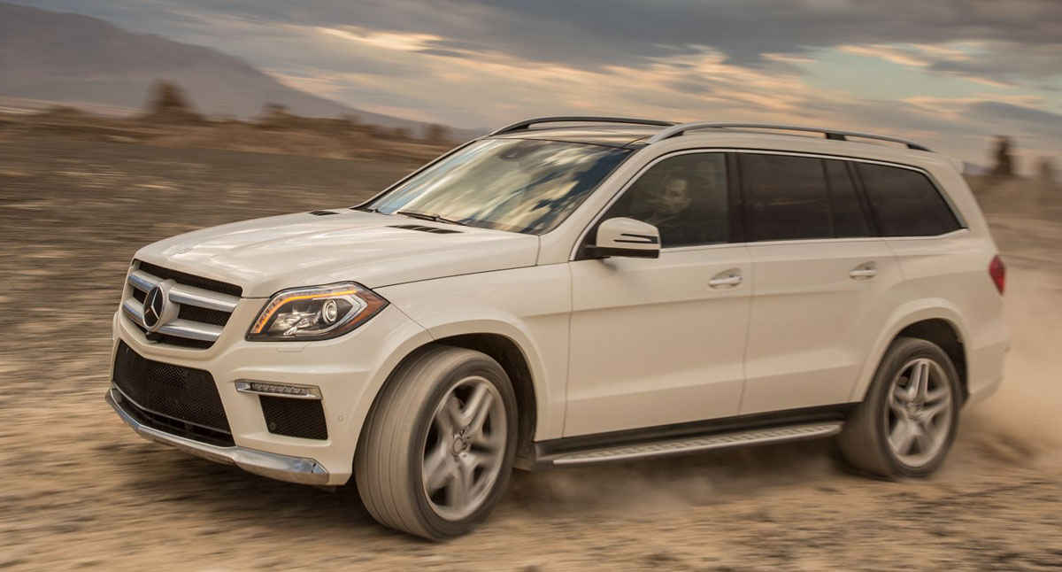 фото Mercedes-Benz GL X166
