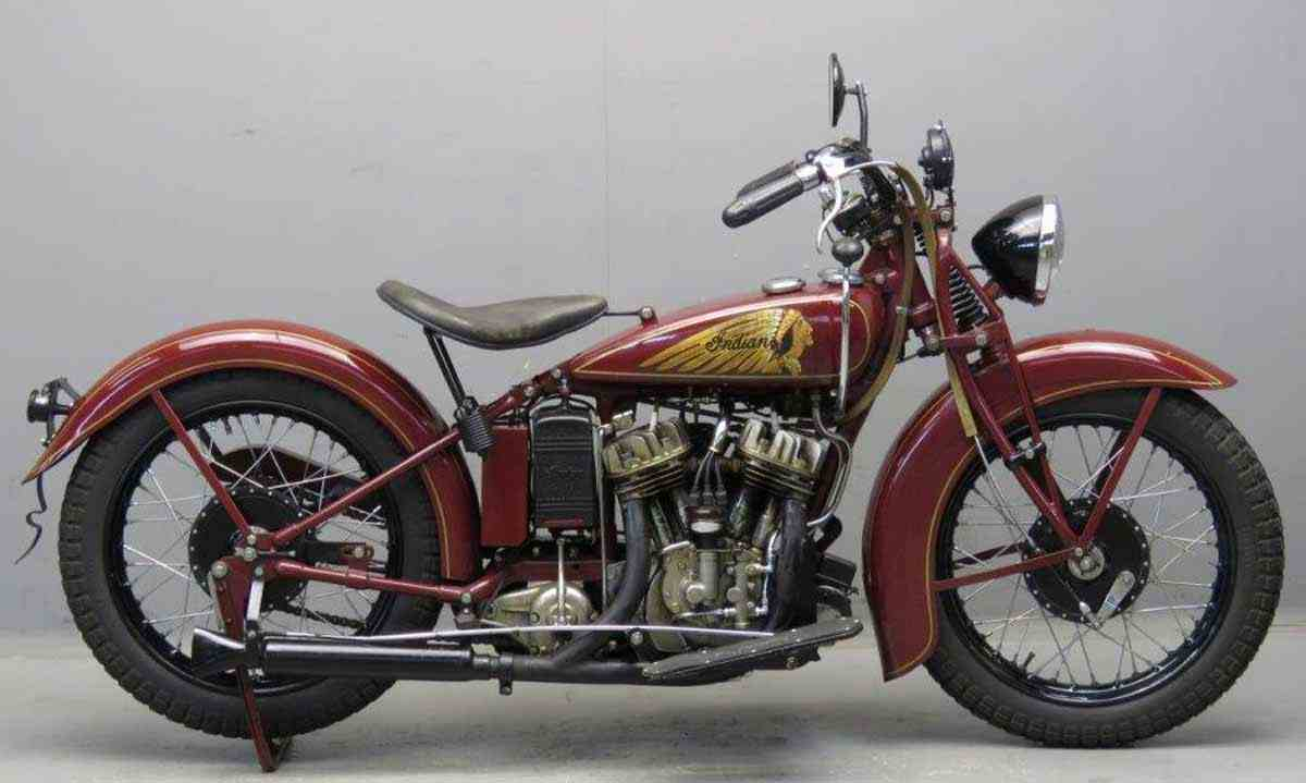 фото Indian Scout Pony 1932 г.