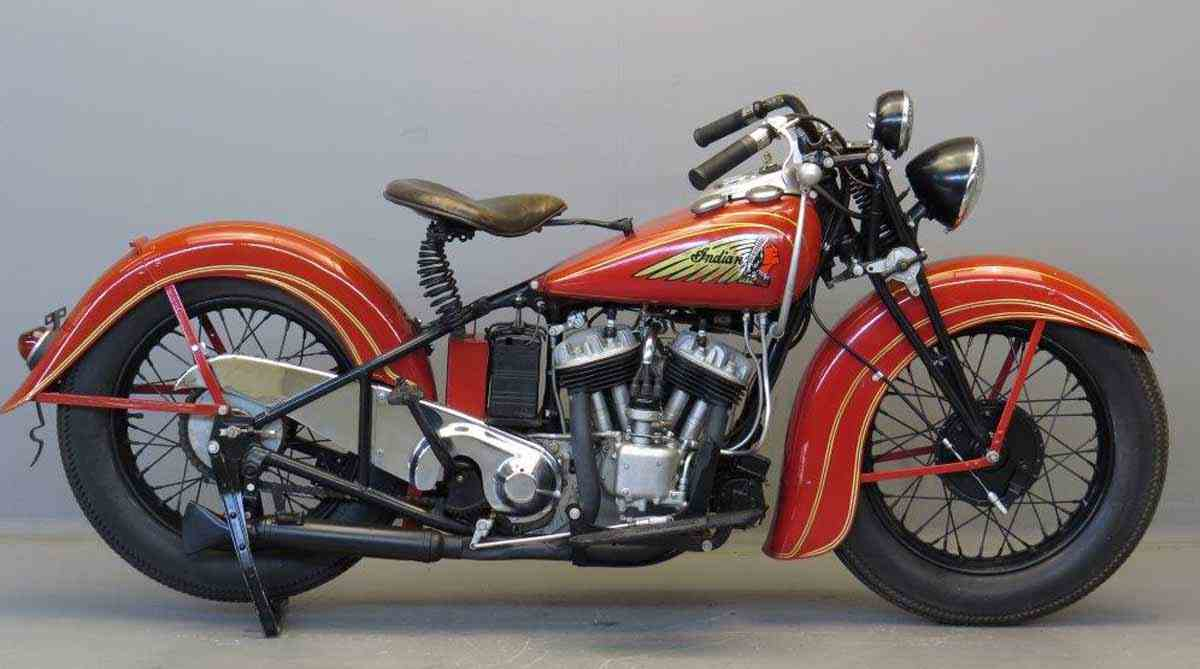 фото Indian Sport Scout 1934 г.
