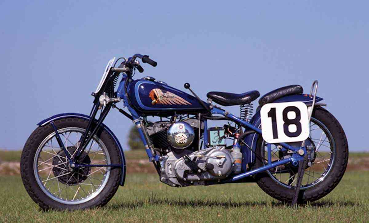 фото Indian Sport Scout 1948
